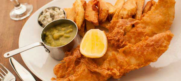 Fish & Chips at the Hornsmill, Chester